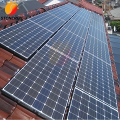 Pitched Tile Roof Solar Mounting